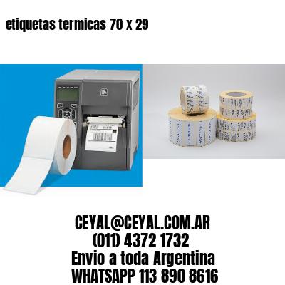 etiquetas termicas 70 x 29
