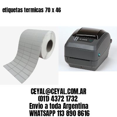 etiquetas termicas 70 x 46