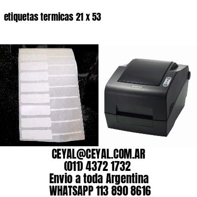 etiquetas termicas 21 x 53