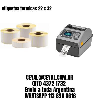 etiquetas termicas 22 x 32
