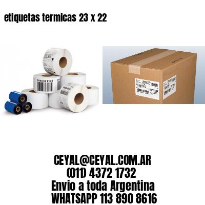 etiquetas termicas 23 x 22