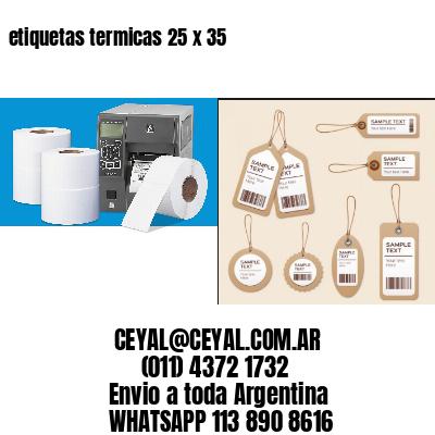 etiquetas termicas 25 x 35