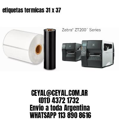 etiquetas termicas 31 x 37