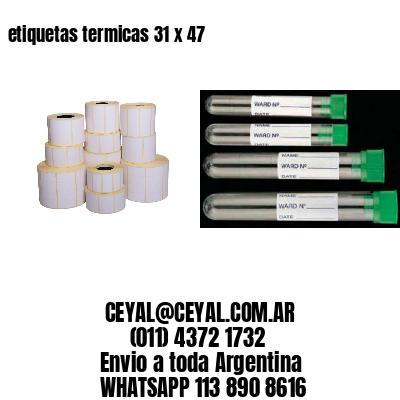 etiquetas termicas 31 x 47