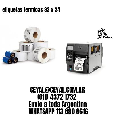 etiquetas termicas 33 x 24