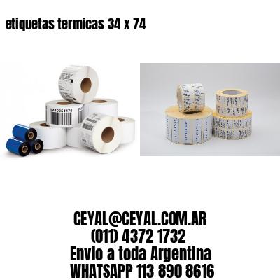 etiquetas termicas 34 x 74