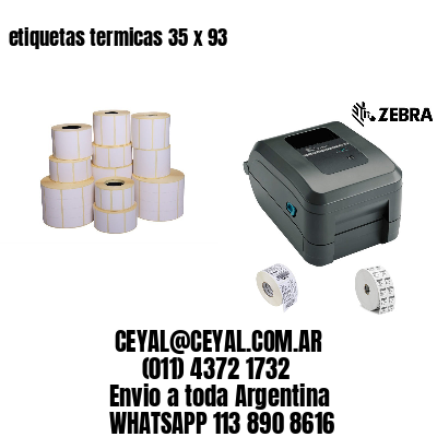 etiquetas termicas 35 x 93