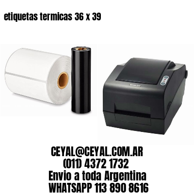 etiquetas termicas 36 x 39