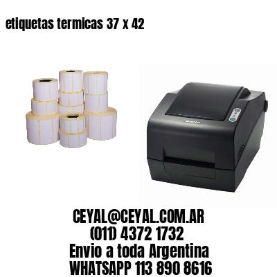 etiquetas termicas 37 x 42