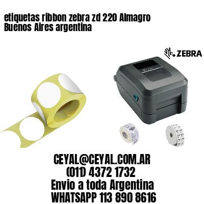 etiquetas ribbon zebra zd 220 Almagro  Buenos Aires argentina