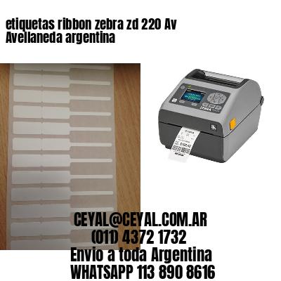 etiquetas ribbon zebra zd 220 Av Avellaneda argentina