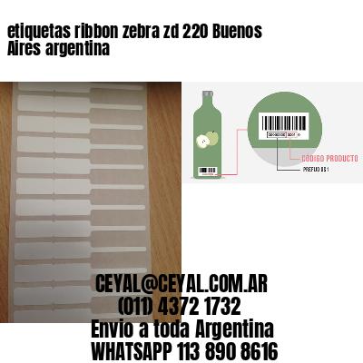 etiquetas ribbon zebra zd 220 Buenos Aires argentina