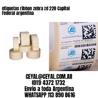 etiquetas ribbon zebra zd 220 Capital Federal argentina