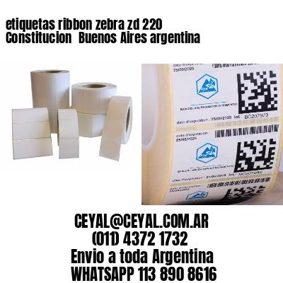 etiquetas ribbon zebra zd 220 Constitucion  Buenos Aires argentina
