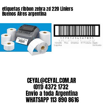 etiquetas ribbon zebra zd 220 Liniers  Buenos Aires argentina