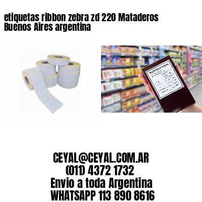 etiquetas ribbon zebra zd 220 Mataderos  Buenos Aires argentina