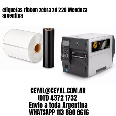 etiquetas ribbon zebra zd 220 Mendoza argentina