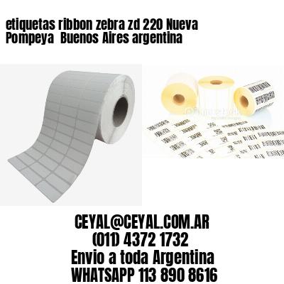 etiquetas ribbon zebra zd 220 Nueva Pompeya  Buenos Aires argentina
