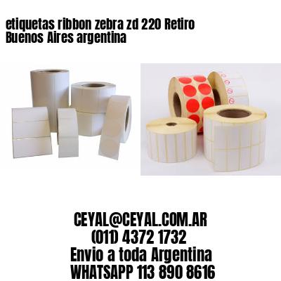 etiquetas ribbon zebra zd 220 Retiro  Buenos Aires argentina