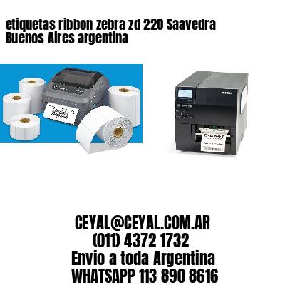 etiquetas ribbon zebra zd 220 Saavedra  Buenos Aires argentina