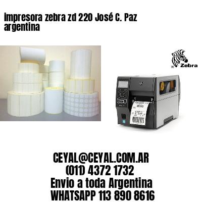 impresora zebra zd 220 José C. Paz argentina