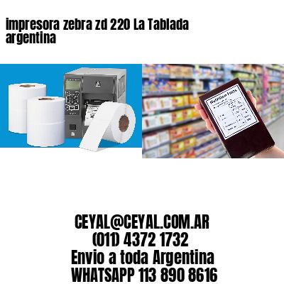 impresora zebra zd 220 La Tablada argentina