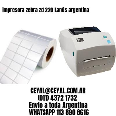 impresora zebra zd 220 Lanús argentina