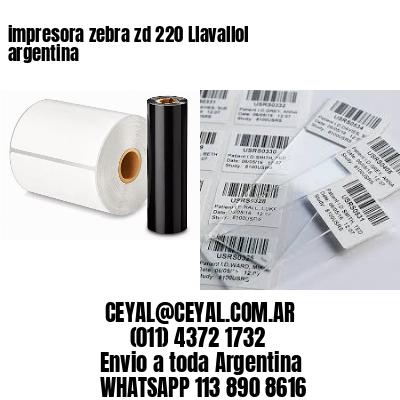 impresora zebra zd 220 Llavallol argentina