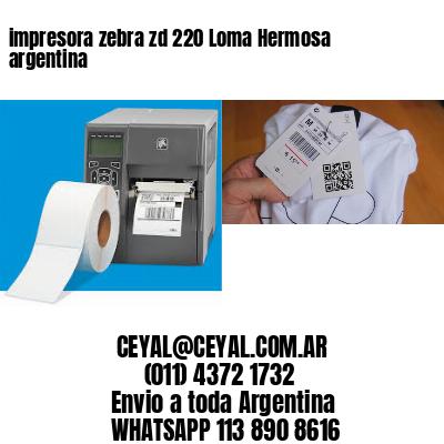 impresora zebra zd 220 Loma Hermosa argentina