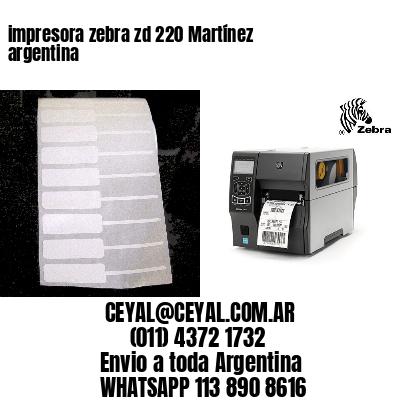impresora zebra zd 220 Martínez argentina