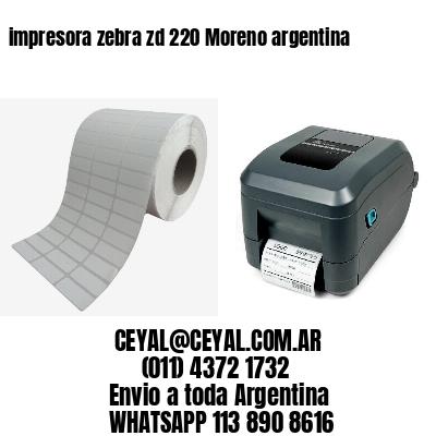 impresora zebra zd 220 Moreno argentina