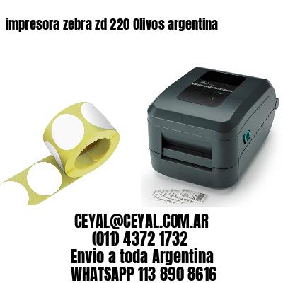 impresora zebra zd 220 Olivos argentina