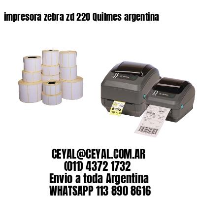 impresora zebra zd 220 Quilmes argentina