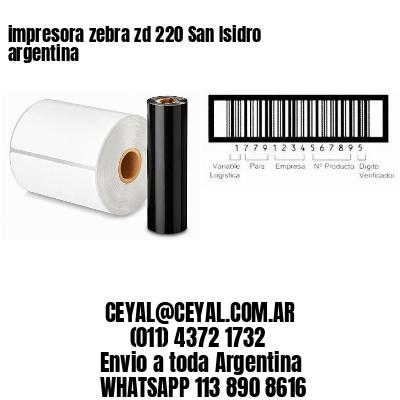 impresora zebra zd 220 San Isidro argentina