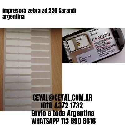 impresora zebra zd 220 Sarandí argentina