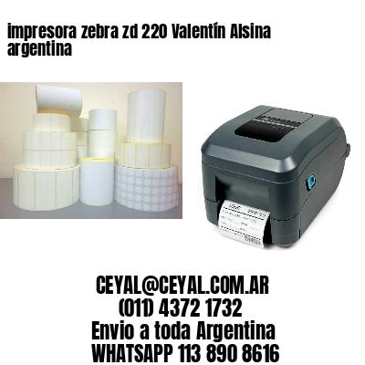 impresora zebra zd 220 Valentín Alsina argentina