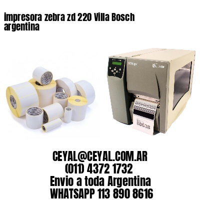 impresora zebra zd 220 Villa Bosch argentina