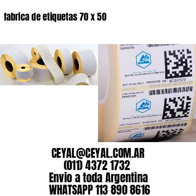 fabrica de etiquetas 70 x 50