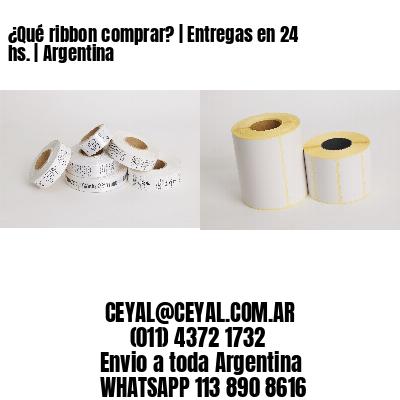 ¿Qué ribbon comprar? | Entregas en 24 hs. | Argentina