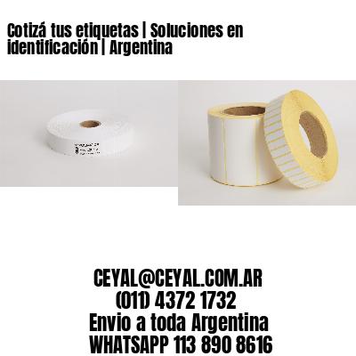 Cotizá tus etiquetas | Soluciones en identificación | Argentina