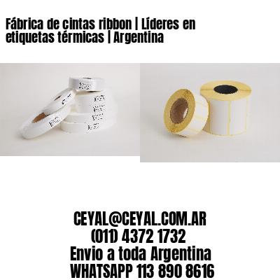 Fábrica de cintas ribbon | Líderes en etiquetas térmicas | Argentina