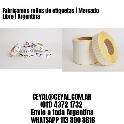 Fabricamos rollos de etiquetas | Mercado Libre | Argentina