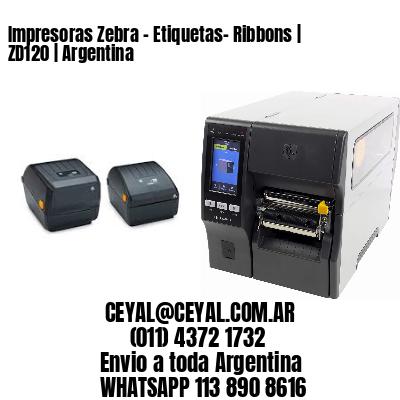Impresoras Zebra - Etiquetas- Ribbons | ZD120 | Argentina