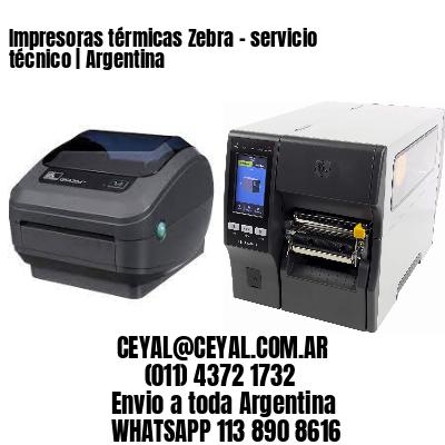 Impresoras térmicas Zebra - servicio técnico   Argentina