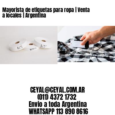 Mayorista de etiquetas para ropa | Venta a locales | Argentina