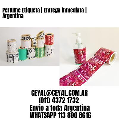 Perfume Etiqueta   Entrega inmediata   Argentina