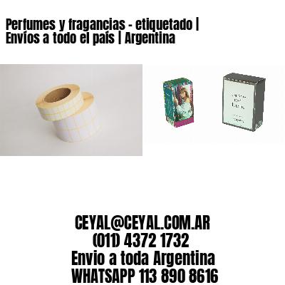 Perfumes y fragancias - etiquetado | Envíos a todo el país | Argentina