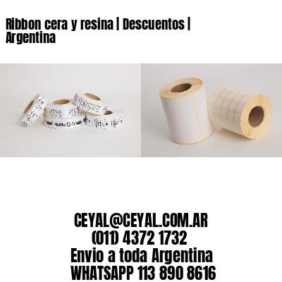 Ribbon cera y resina | Descuentos | Argentina