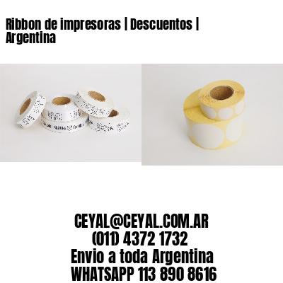 Ribbon de impresoras | Descuentos | Argentina