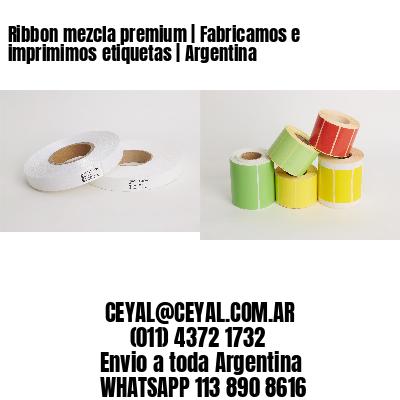 Ribbon mezcla premium | Fabricamos e imprimimos etiquetas | Argentina